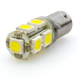 BA9s-xHP9: BA9s LED Bulb - 9 LED Tower