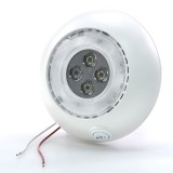 DLWS-BWW10: Round Dome Light LED Fixture with Switch for Night Light Mode