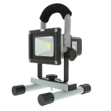 FLPB-CW120-10W: 10W Portable High Powered Rechargeable LED Work Light