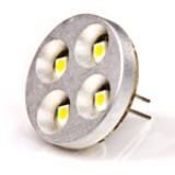 G4B-xHP4-DAC-DI: LED G4 Lamp, 4 LED Disc type with Back Pins