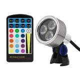 GLUX-RGB6W-S40: G-LUX series Color Changing RGB LED Spot Light - Plug and Play (remote sold separately)