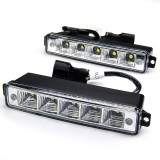 DRL-CW5-SM: High Power Side Mounted LED Daytime Running Light Kit