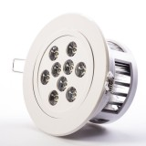 RLFAD-xW9W-P45: 9 Watt LED Recessed Light Fixture - Aimable and Dimmable