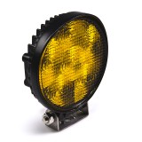 WVS-A18W-R: Round 18W Heavy Duty High Powered Amber LED Vehicle Strobe Light